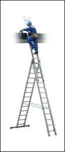лестницы трех секционные профи